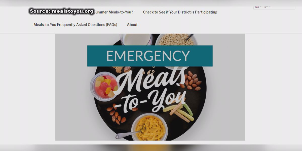 Thomas Co. students to receive meal deliveries through 'Meals-To-You' program
