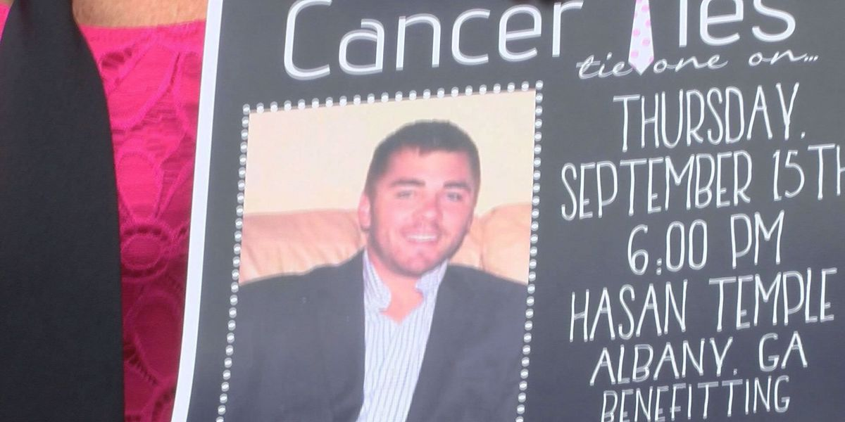Cancer Ties donation hits close to home for WALB family