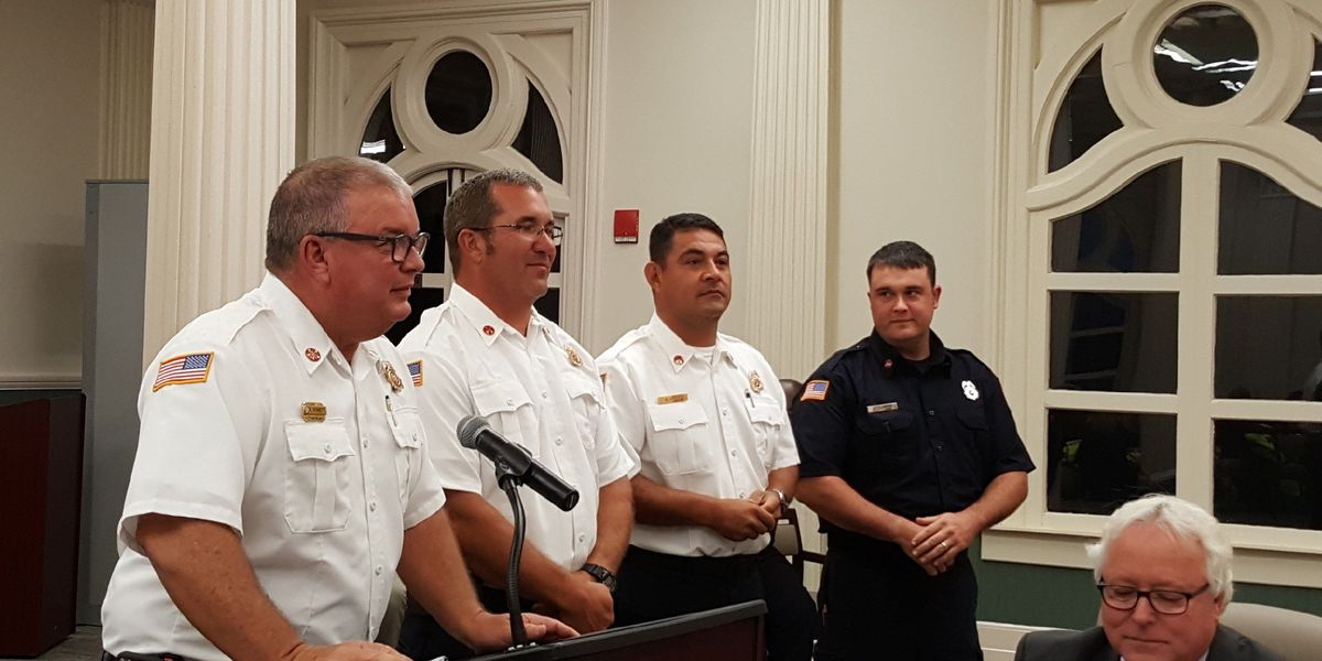 4 Tifton firefighters get promoted