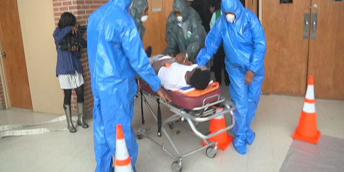 Albany High holds disaster drill