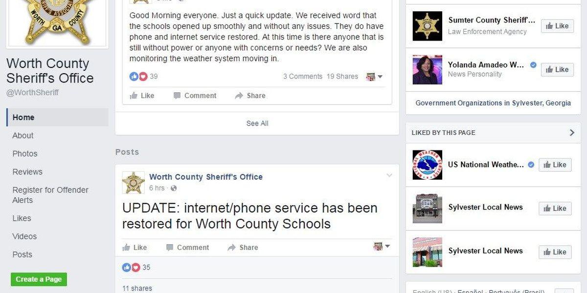 Social media helps folks during severe weather