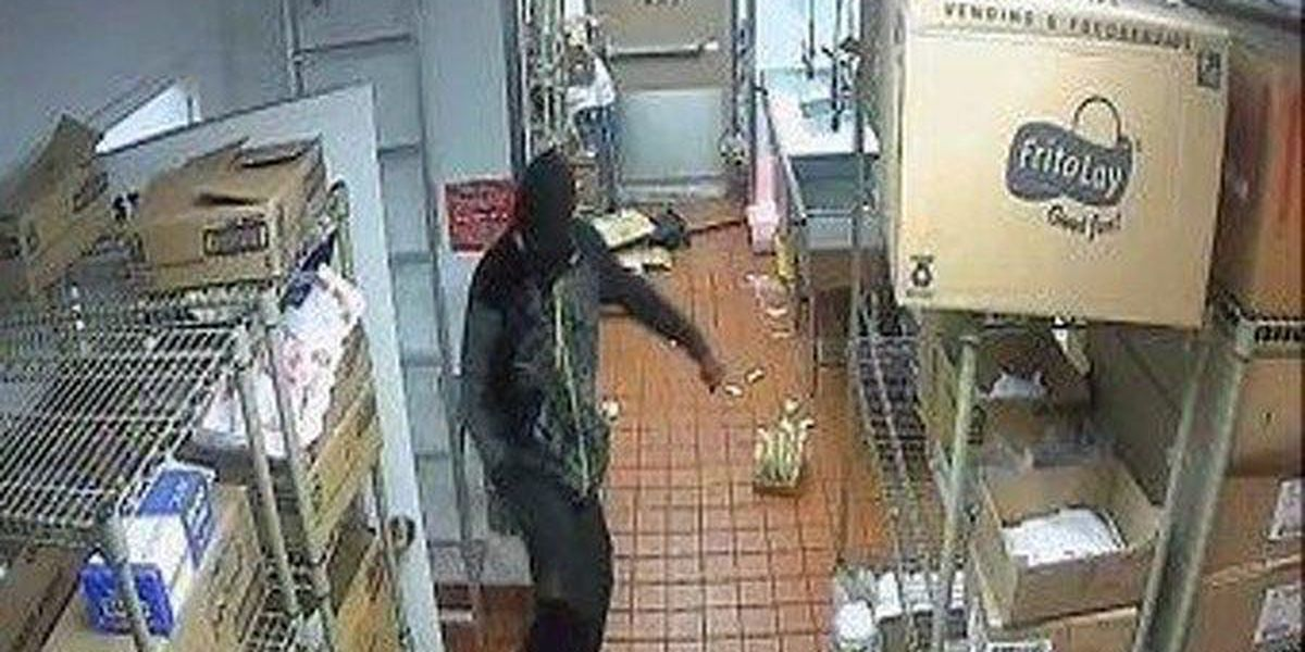 Albany police release pictures of Taco Bell robber