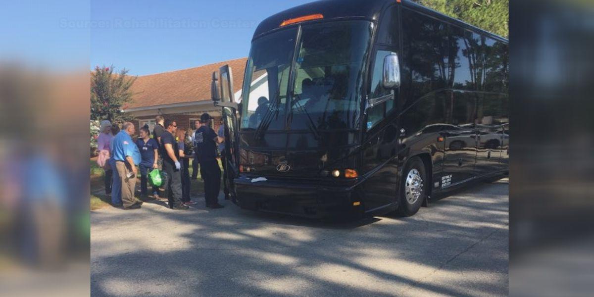 Brunswick evacuees leave Tifton Rehabilitation Center