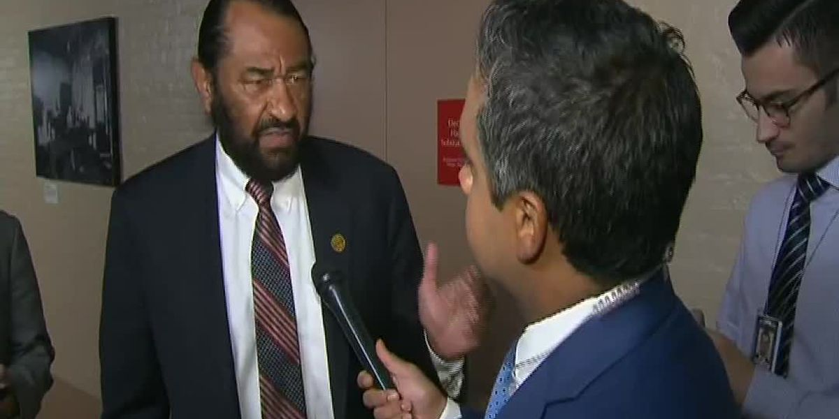 Rep. Al Green speaks ahead of impeachment vote