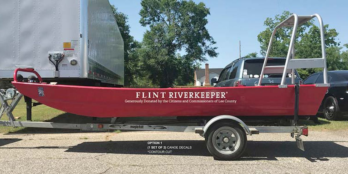 Lee Co. donates boat, trailer to Riverkeeper