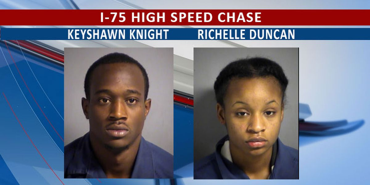 High speed I-75 chase ends with 2 arrests