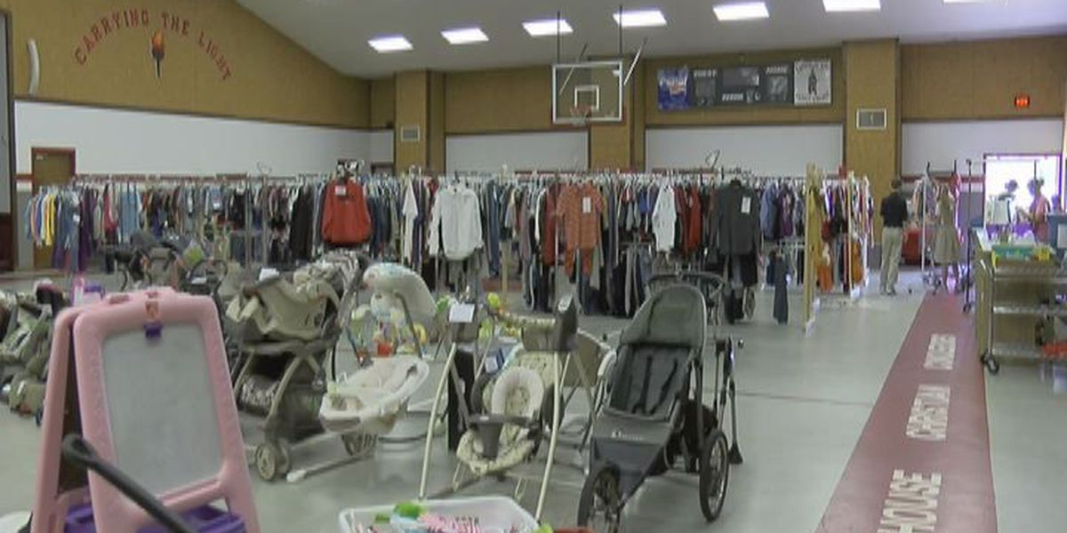 Kids consignment sale kicks off at Lighthouse Christian School