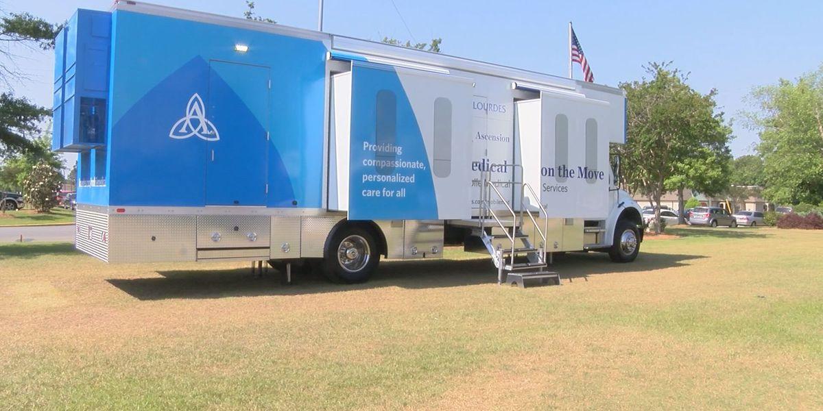 Tift Regional presents mobile healthcare bus