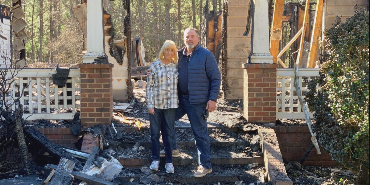 'There's nothing left': Americus couple escapes house fire