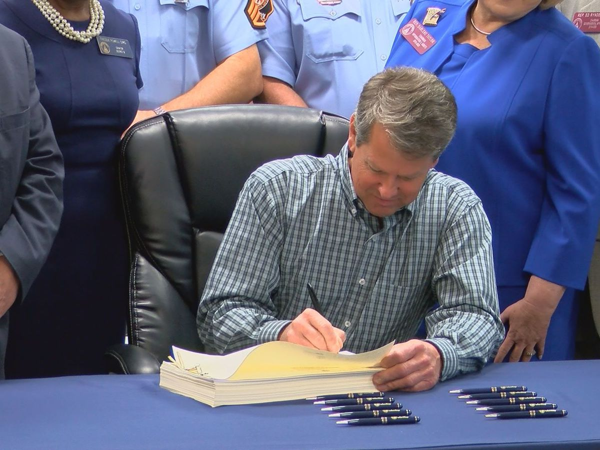 WATCH LIVE: Kemp signs hate crimes bill into law