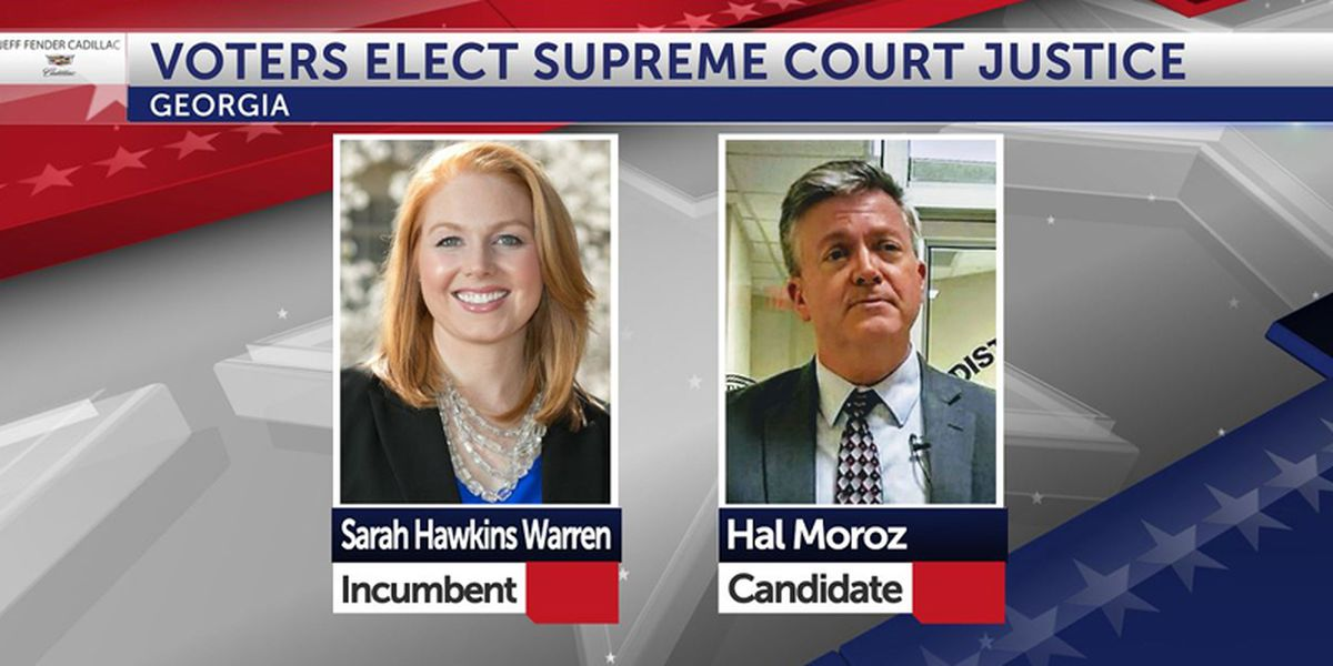 Ga. elects state Supreme Court justice