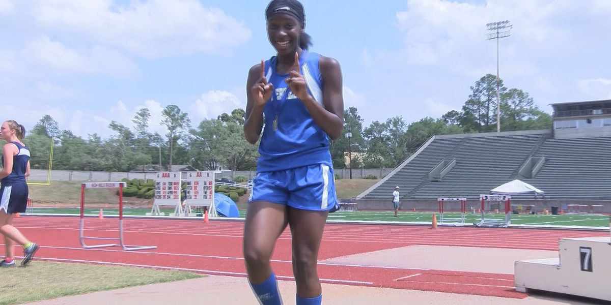 Terrell's Wimberly shines bright at state championships