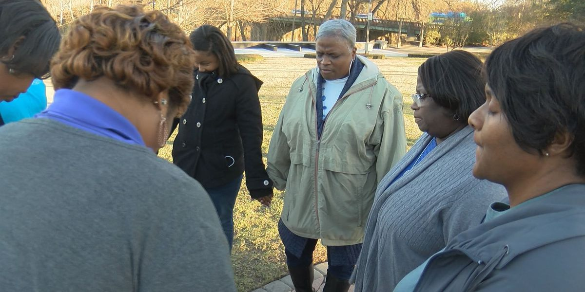 Albany residents unite in prayer after tornado shakes the community