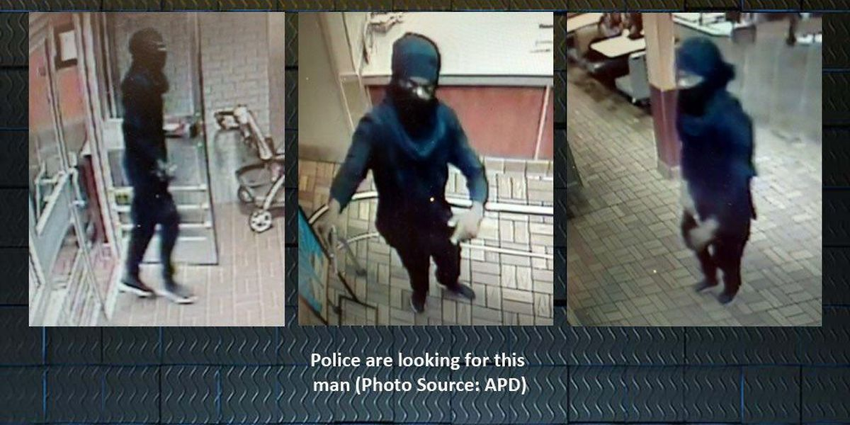 APD has photos of man who fired shots inside Burger King