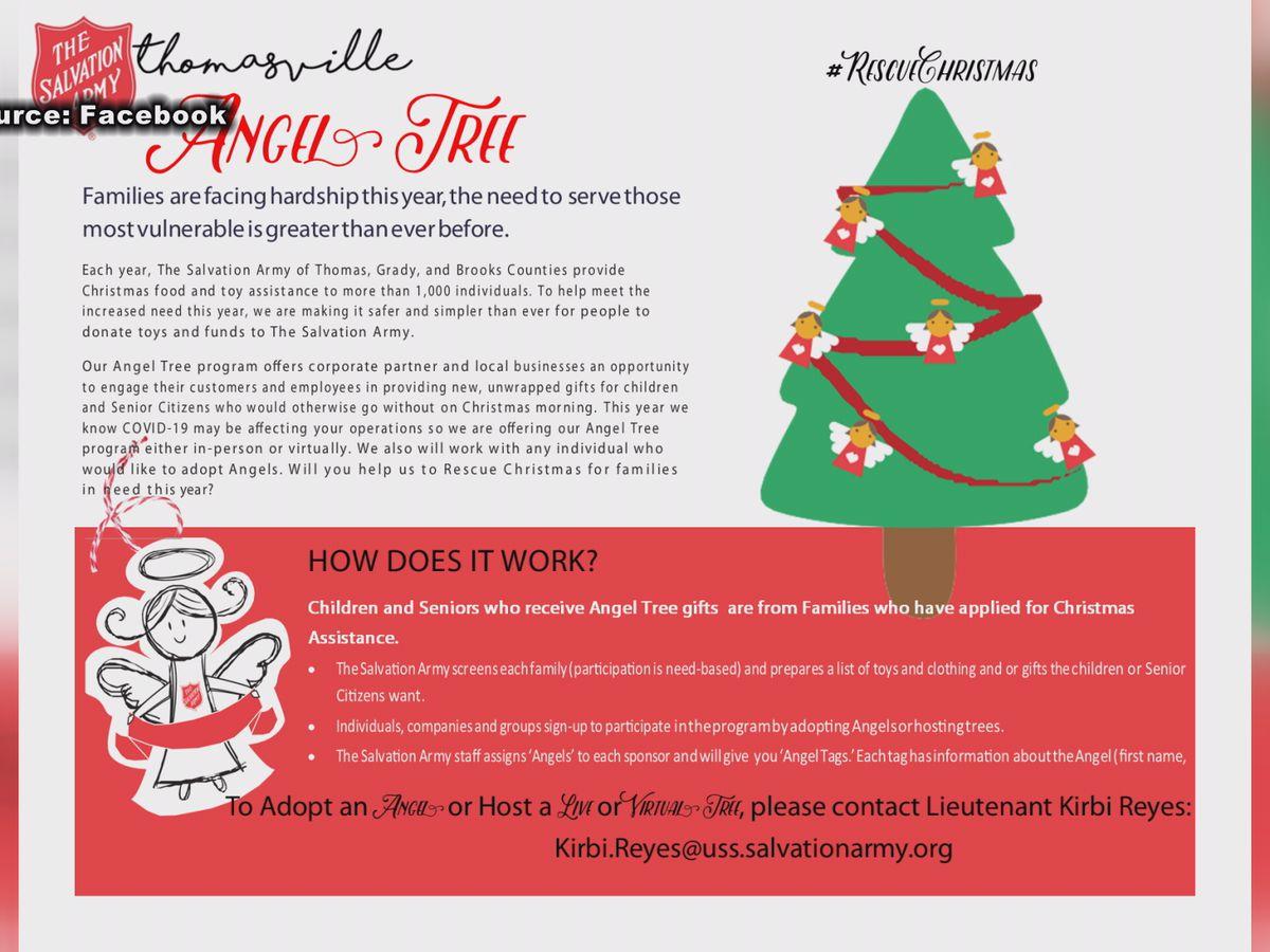 Salvation Army in need of volunteers this Christmas season