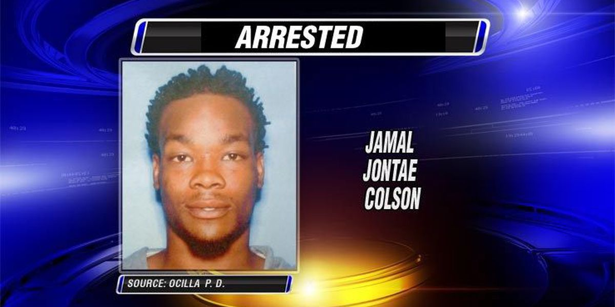 Ocilla PD arrests remaining armed robbery suspect