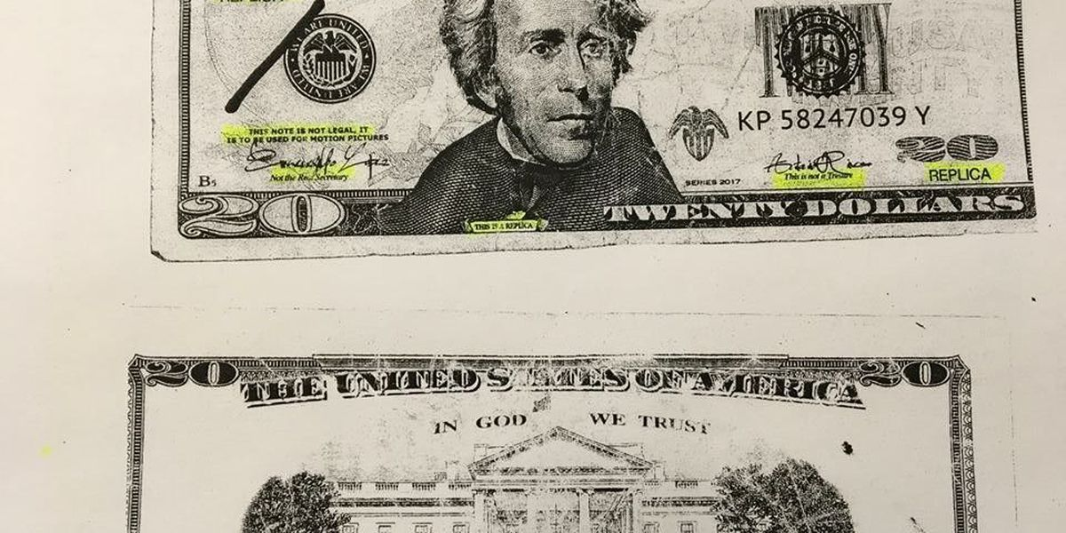Ocilla Police warn about fake $20 bills reported in stores
