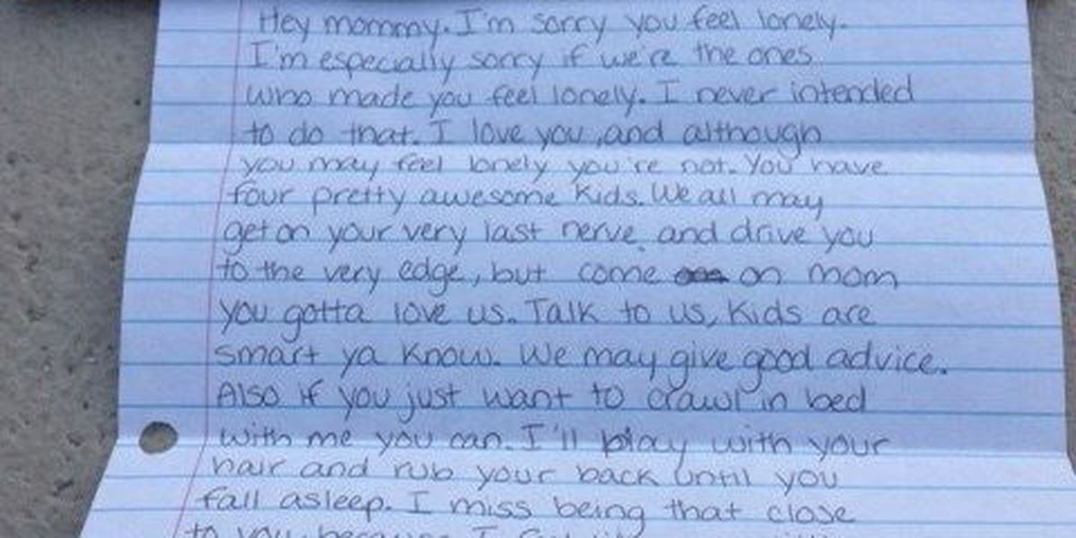 Late daughter leaves behind lasting inspiration in letters to mom