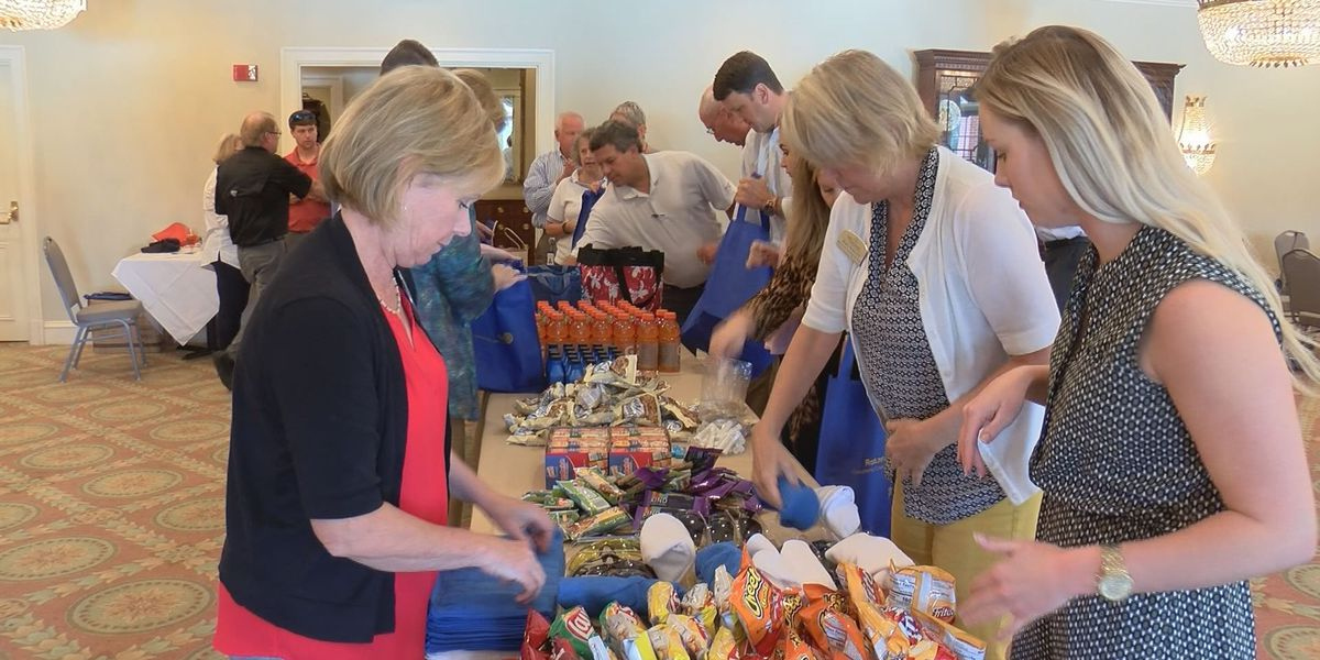 Dougherty Co. Rotary Club donates items to storm cleanup crew