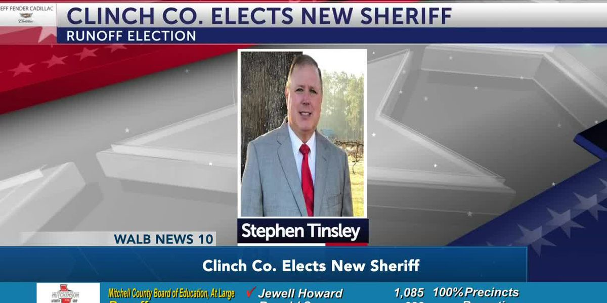 Clinch Co. votes in new sheriff