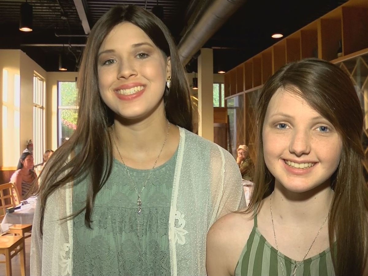 13-year-old stepsisters celebrate remission after battling the same type of cancer