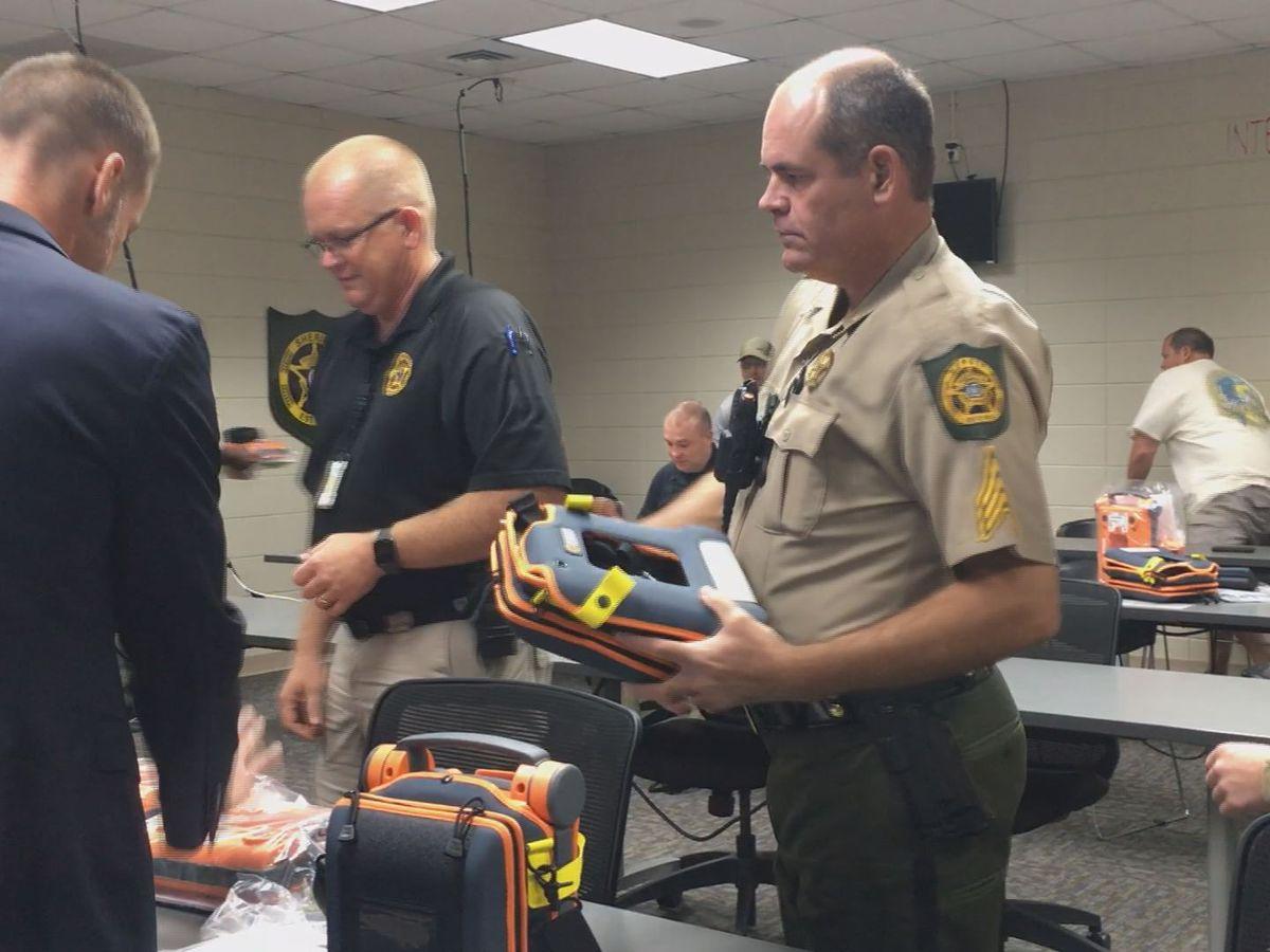 Crisp Co. deputies get equipment to help save lives