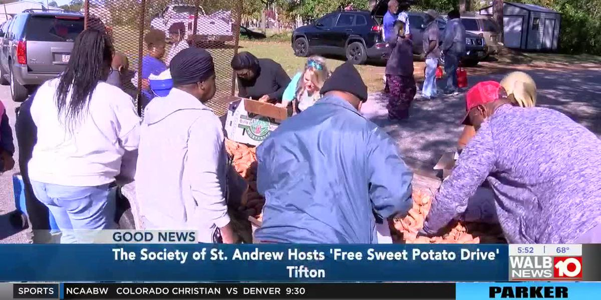 Tifton offering free sweet potatoes for everyone