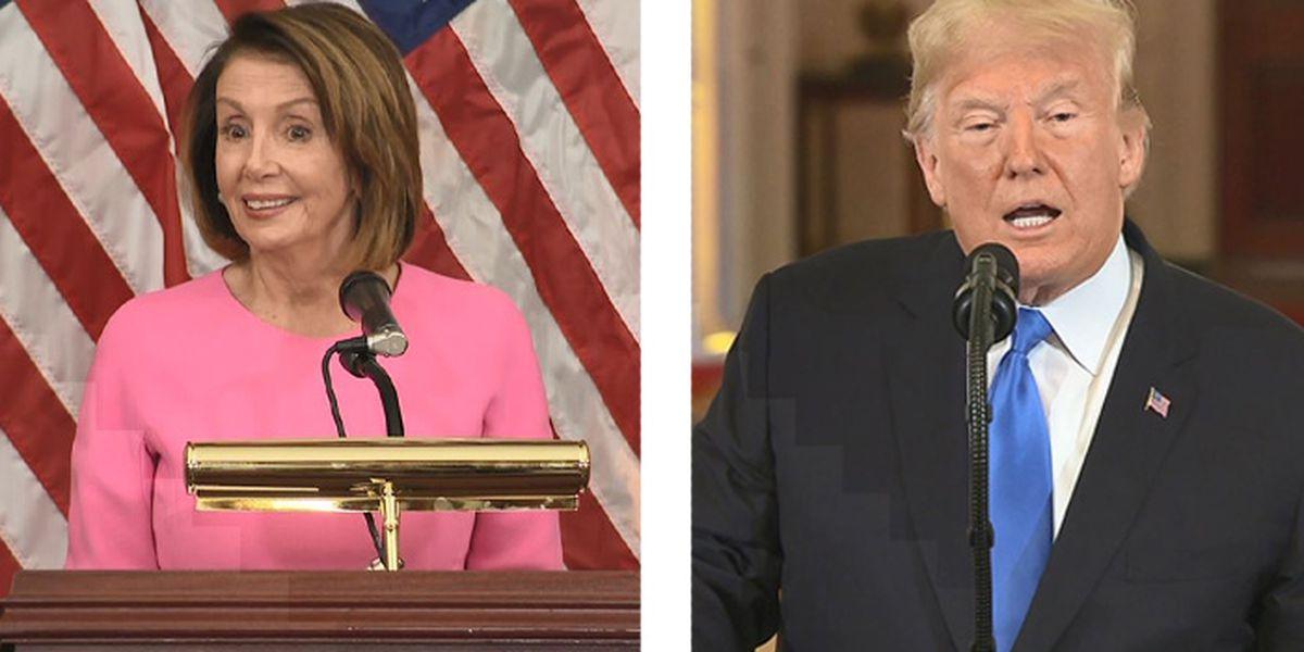 Trump celebrates GOP midterm victories despite loss of House to Democrats