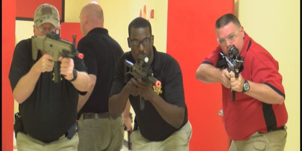 Active shooter drill prepares officers for the worst