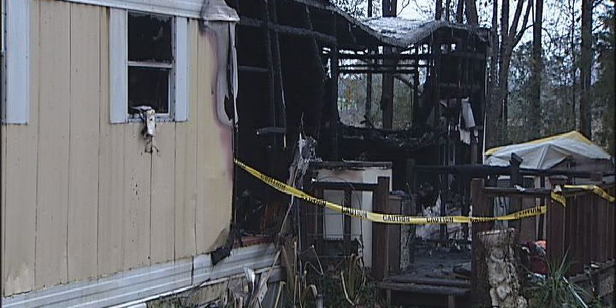 Family loses everything in mobile home fire