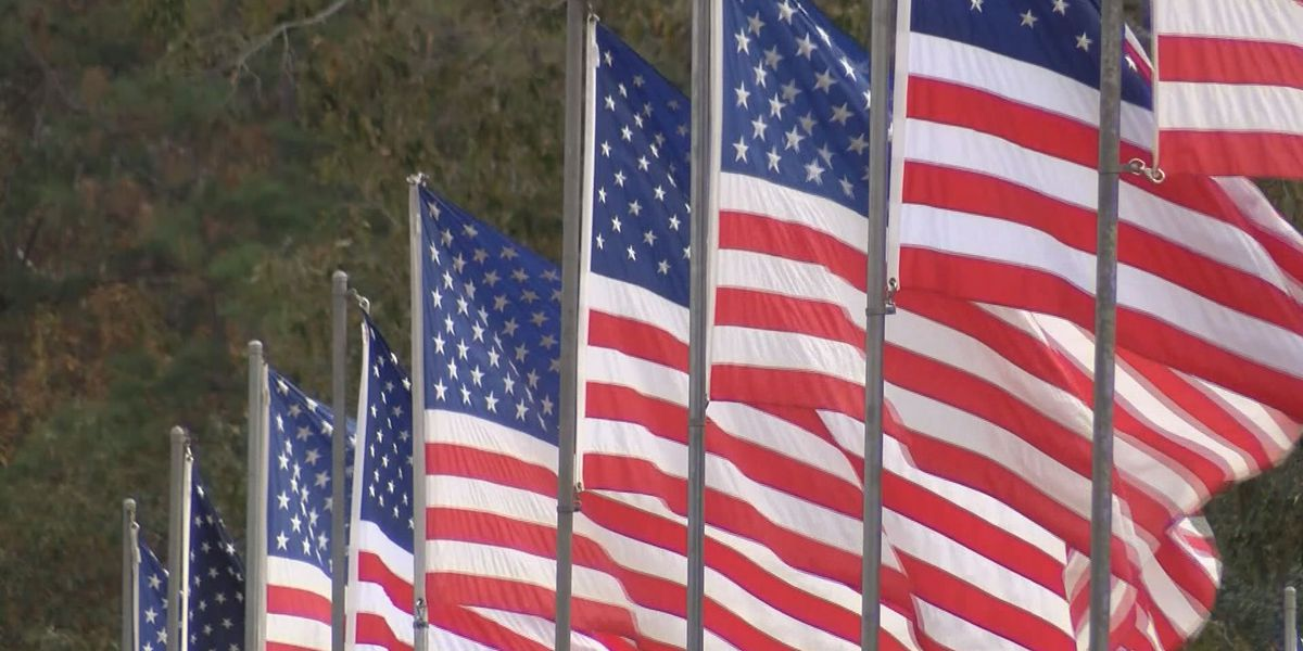 Andersonville National Historic Site honors veterans with 'Avenue of Flags'