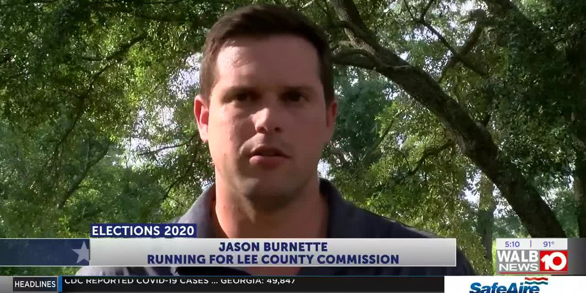 Burnette hoping to become Lee Co. District 5 commissioner