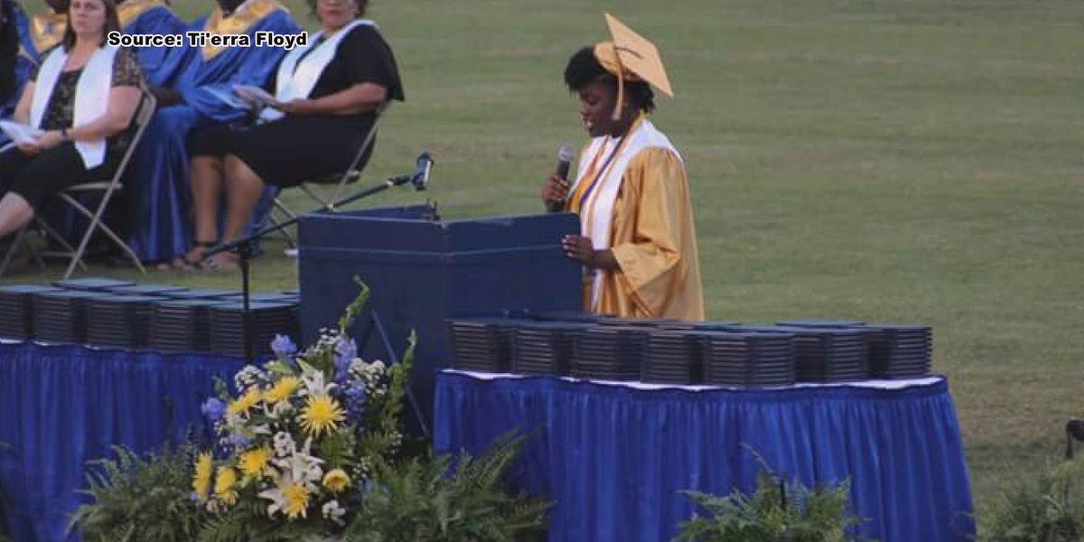 Salutatorian's speech stirs controversy during Americus-Sumter graduation