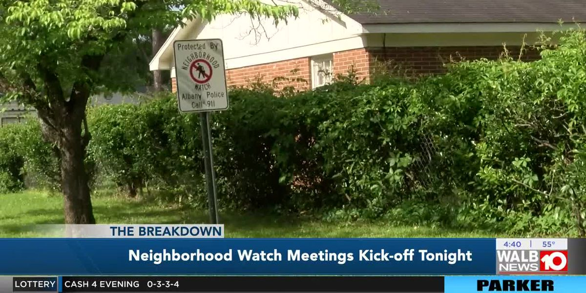 The Breakdown: Neighborhood Watch Meetings