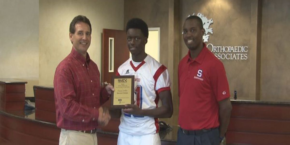 WALB PLAYER OF THE WEEK (10/8/14): SCA's Griffin scores on both sides of ball