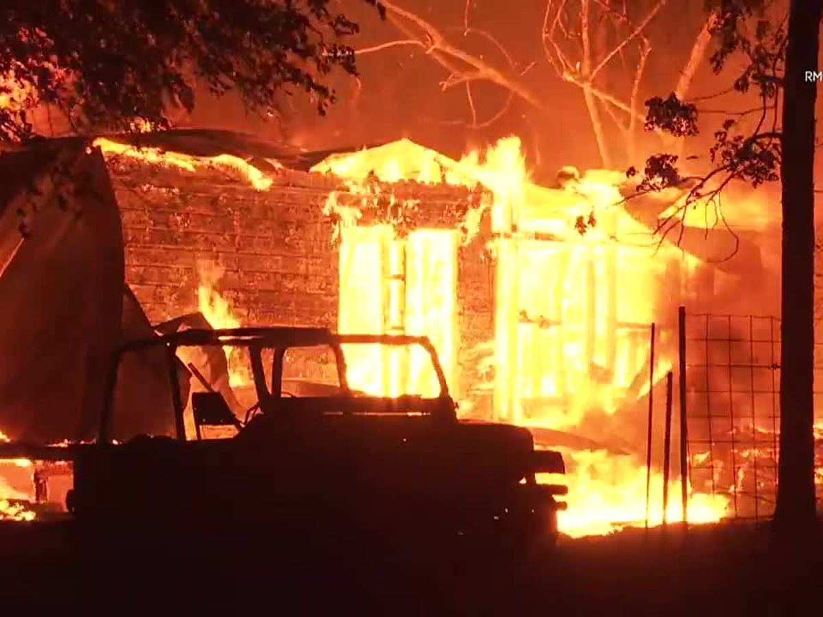 More fires in California destroy homes, prompt evacuations