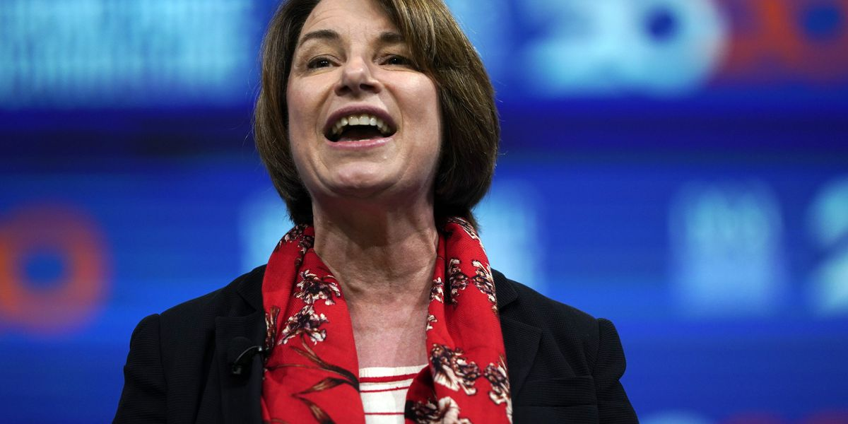 Klobuchar's husband back home after virus hospitalization