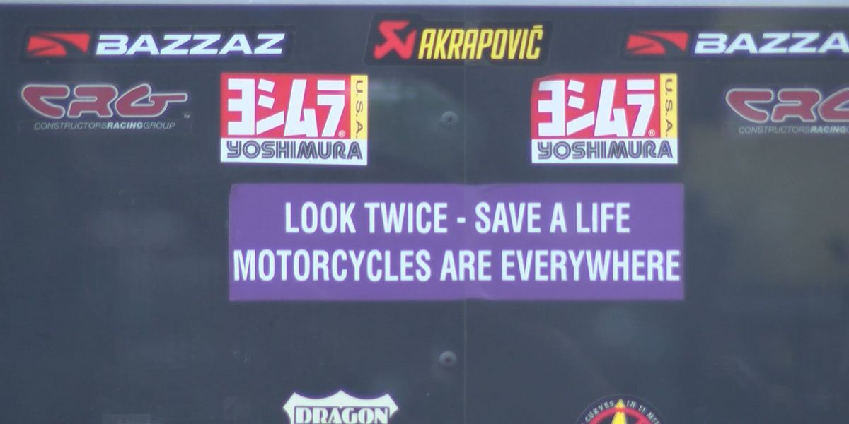Motorcyclists remind drivers 'Keep an eye out for us'