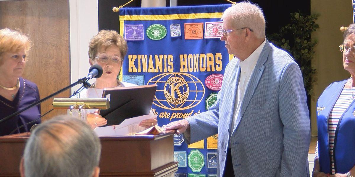 Kiwanis club creates scholarship in DCSS Superintendent's name