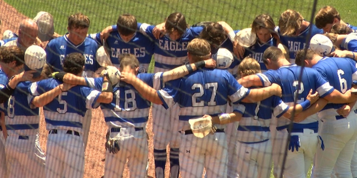 Eagles swept in state title series