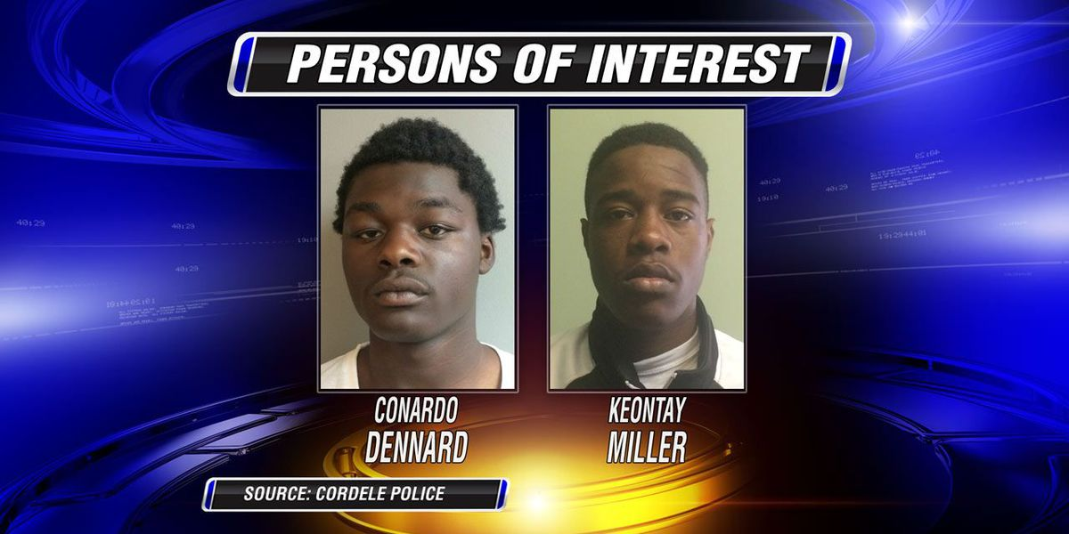 Cordele Police name persons of interest in homicide