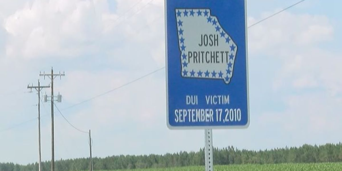 Sign along highway honors Colquitt County teen killed by drunk driver
