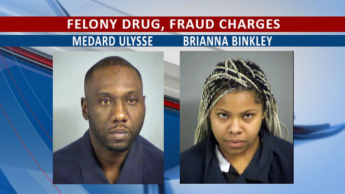 2 arrested for ID theft, drug charges on I-75