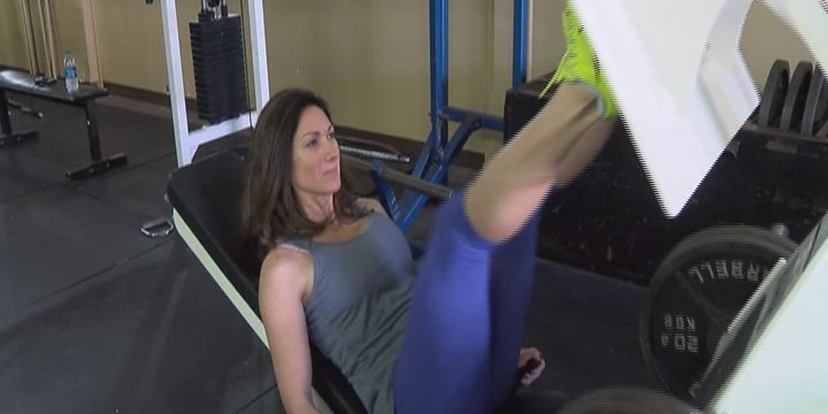People hit the gyms for New Year's Resolution