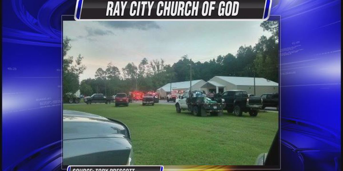 Small fire damages church