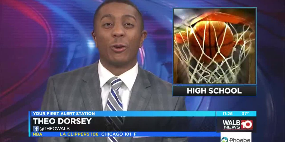 High School basketball highlights
