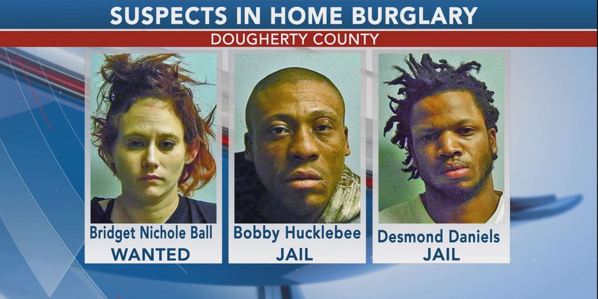 Dougherty Co. police looking for 3rd suspect in burglary case