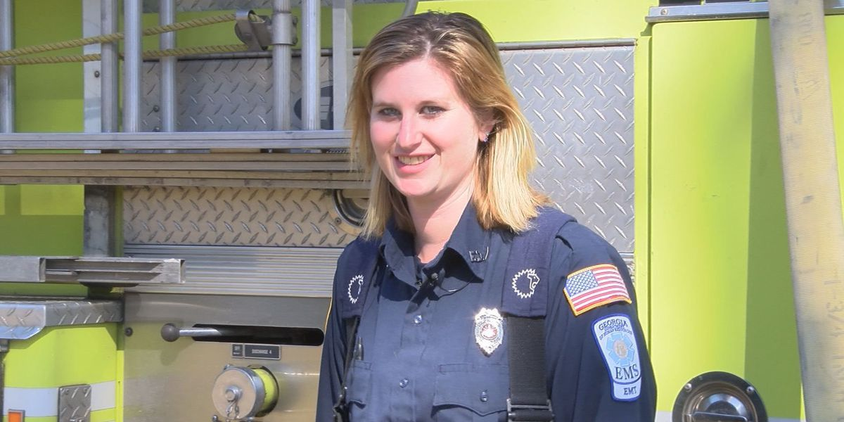 Moultrie welcomes first female firefighter