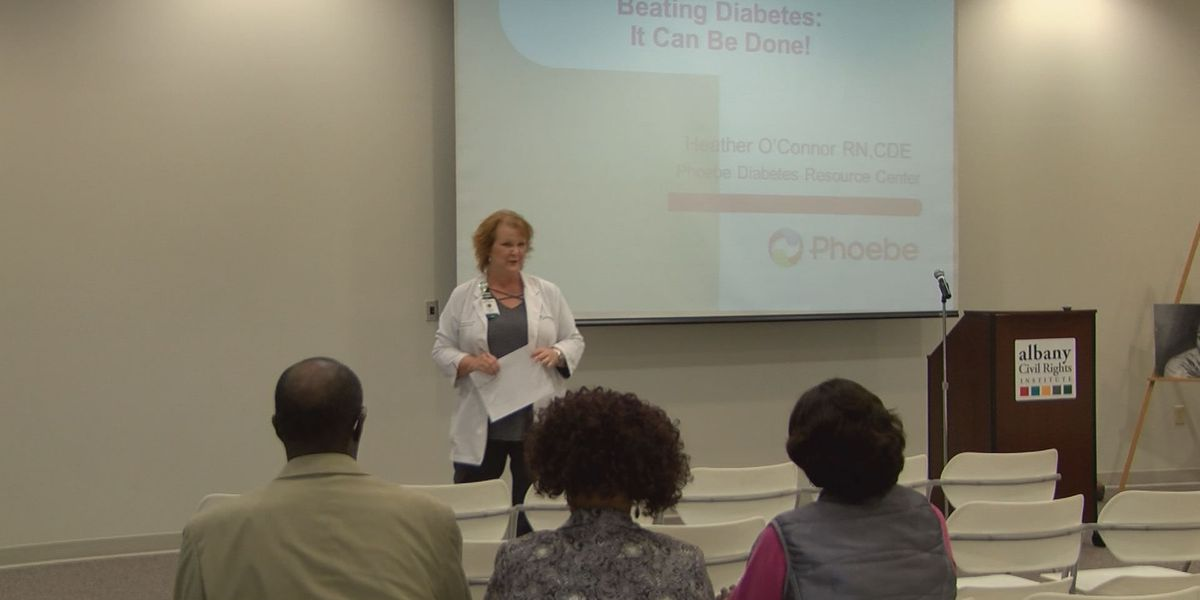 Phoebe, Albany Civil Rights Institute work together to beat diabetes