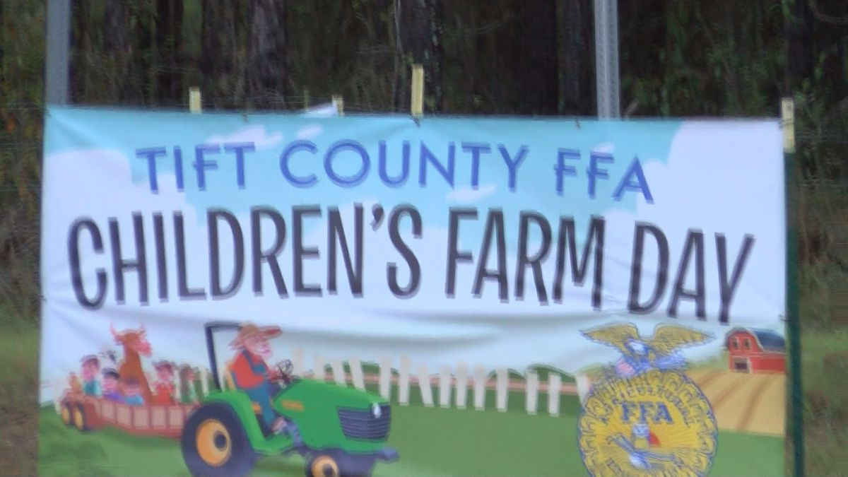 Tift Co. Schools introduces agriculture to third graders